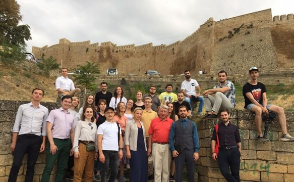 The finalists of the competition for the Development of a Master Plan for Derbent Urban District visited the city