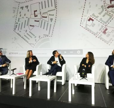 Sergei Georgievskii moderated the Comfortable City conference