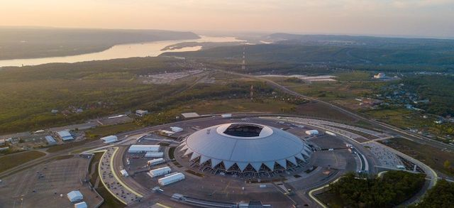 Open International Competition for the development of a master plan for the territory adjacent to the Samara Arena stadium